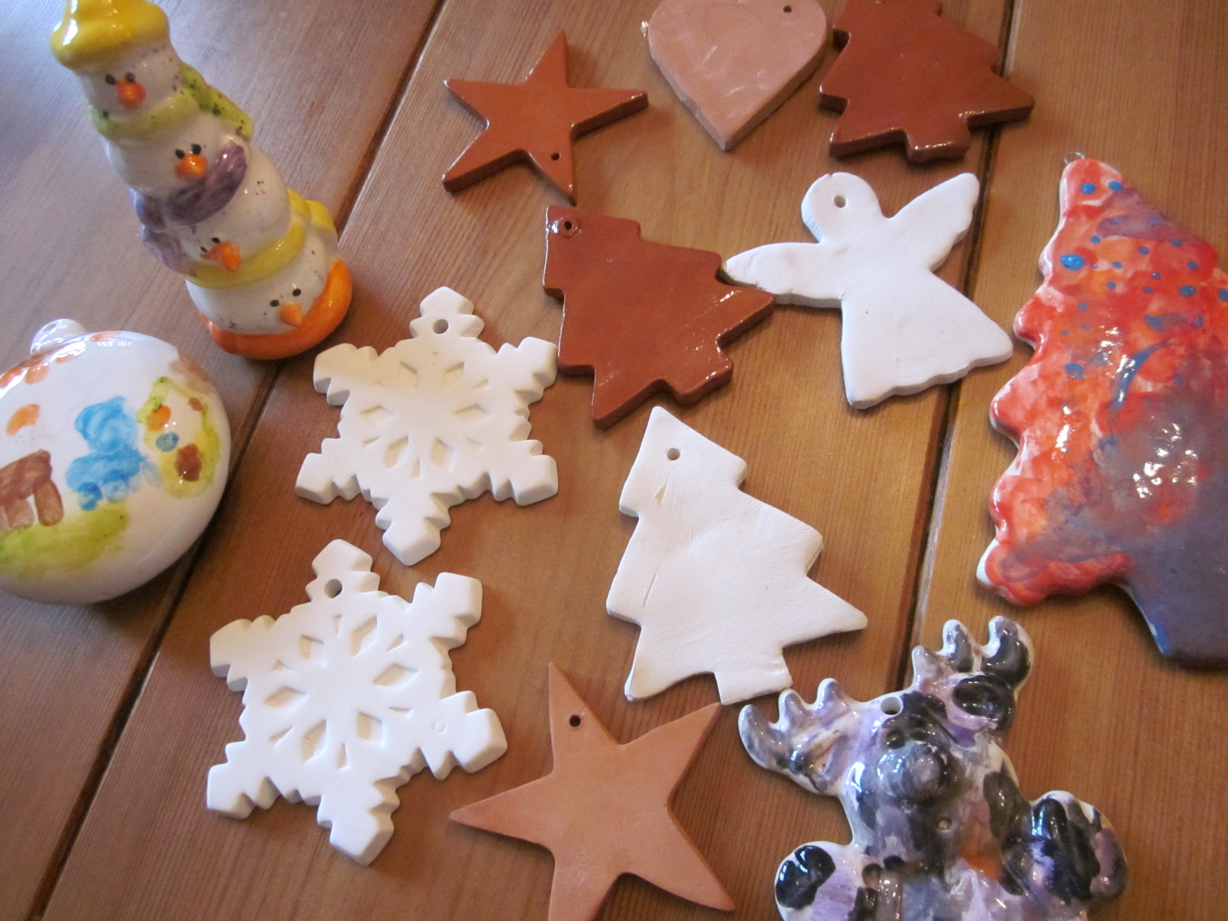 Christmas Decorations Made From Clay : Simple christmas traditions chutney tree decorations