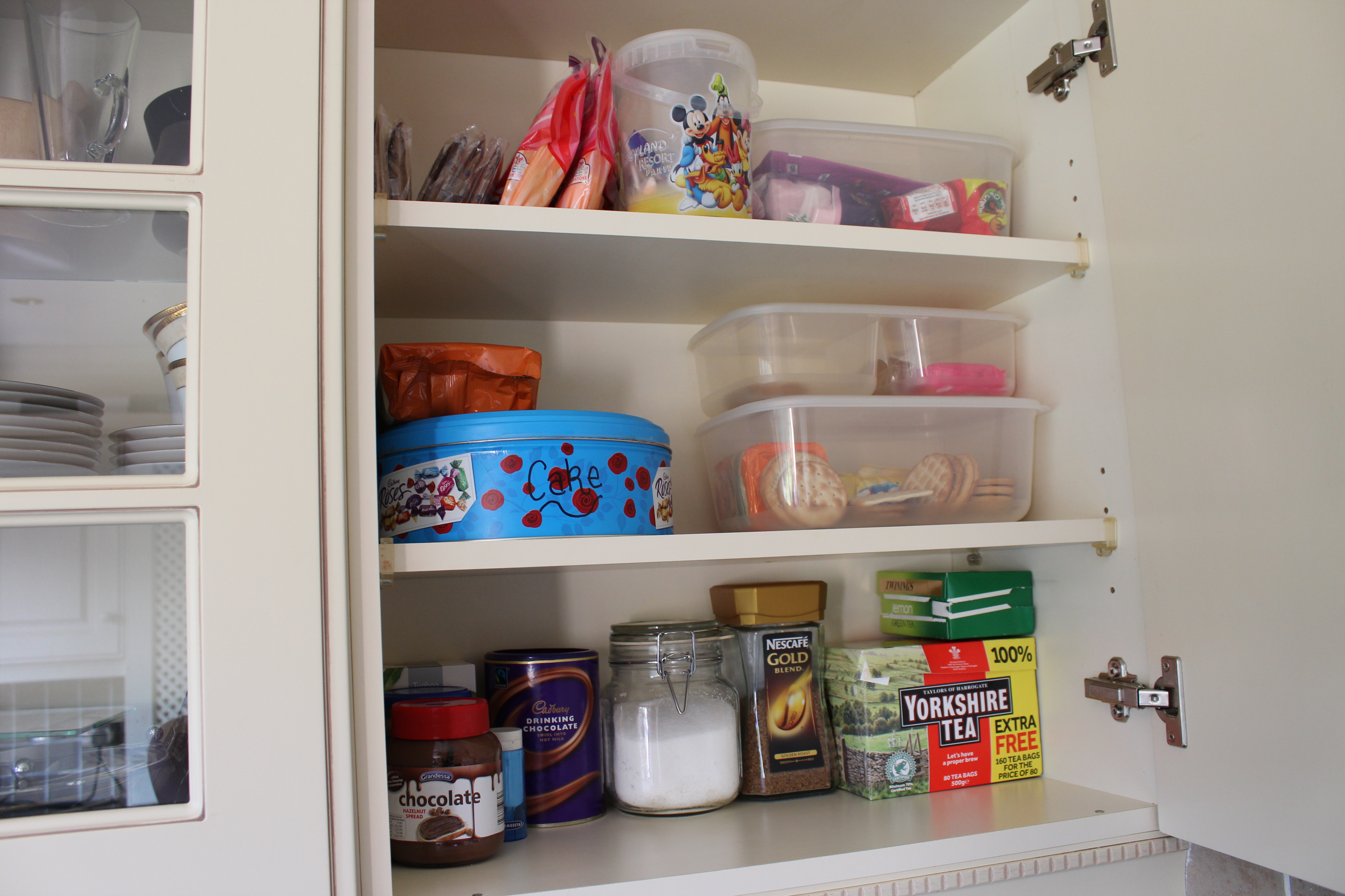 This Is A Typical Cupboard In My Kitchen Quite Minimal Really I Carry