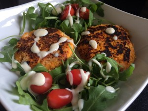 Salmon And Sweet Potato Fish Cakes Recipe