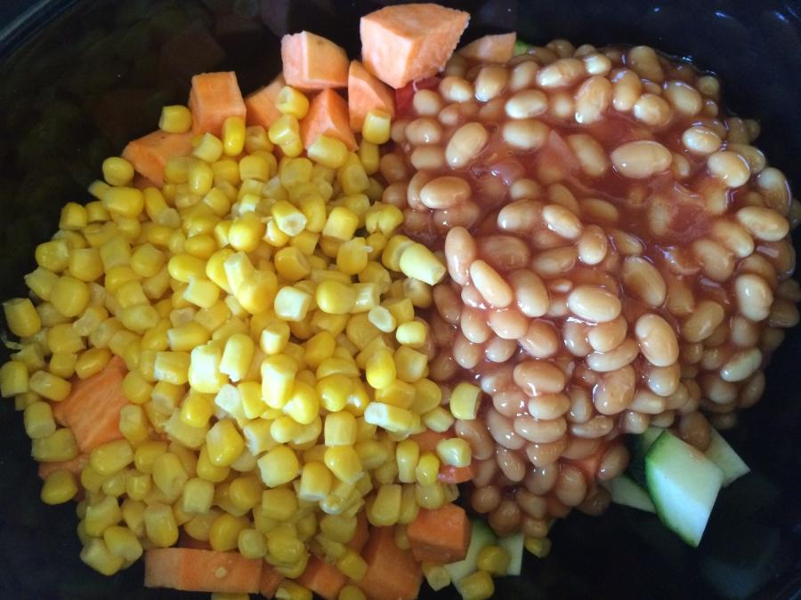 Baked Beans & Sweetcorn