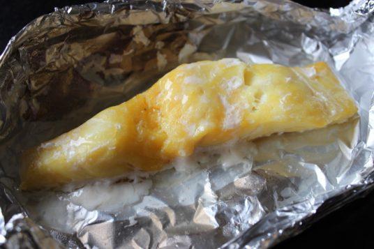 Baked Smoked Haddock