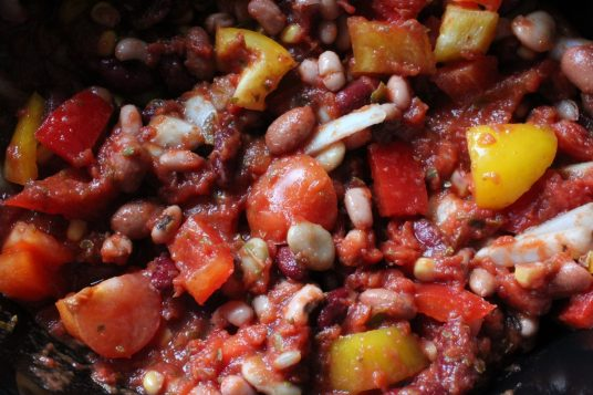 Five Bean Chilli recipe