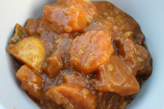 Spicy Butternut Squash One Pot Recipe