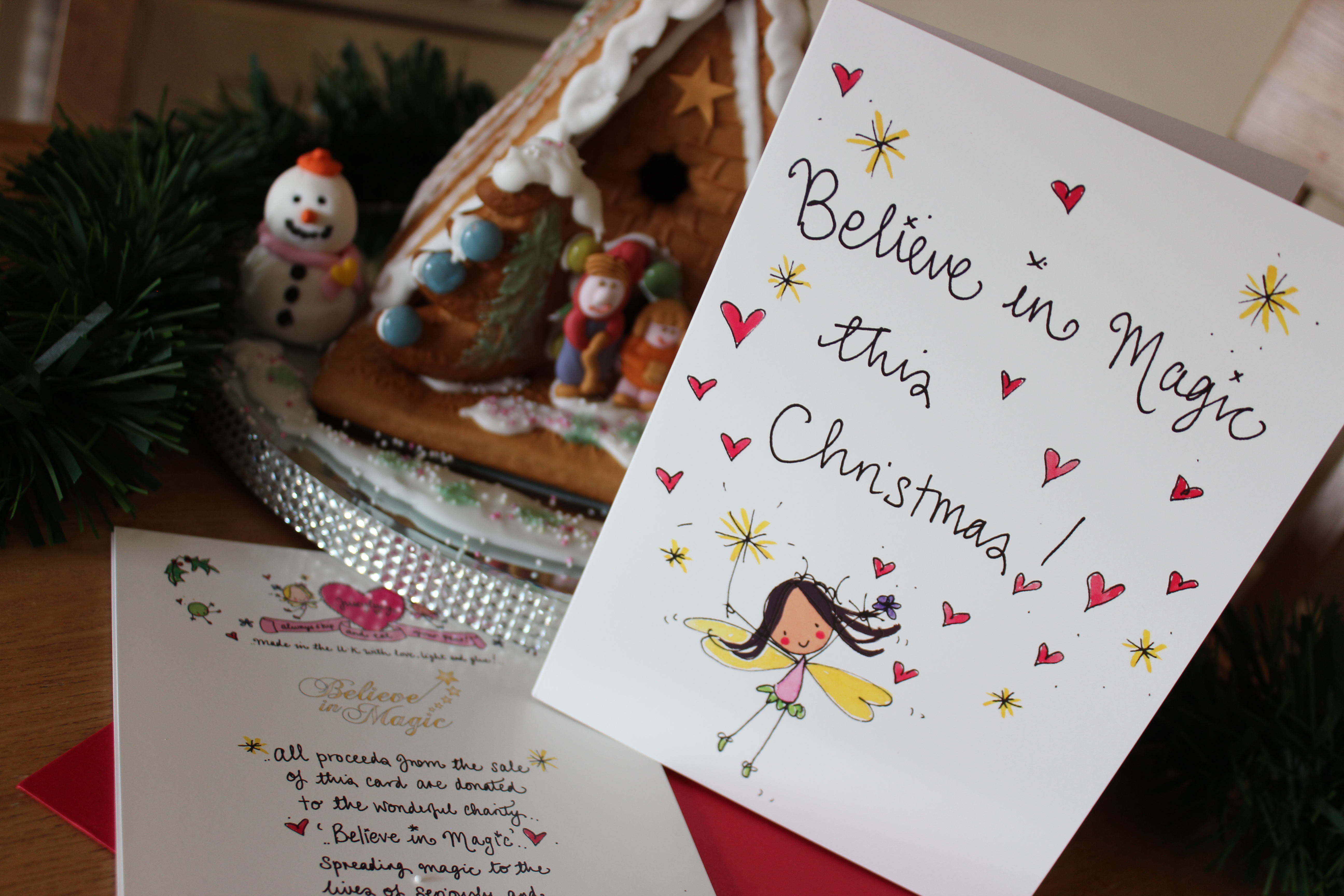 Christmas Cards & Charitable Donations - Simply Being Mum