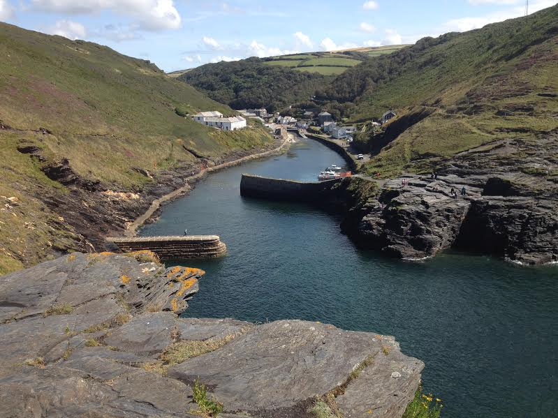 Beautiful Boscastle near Tintagel
