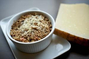 Apple, Fig and Pumpkin Cheesy Crumble Recipe Thumbnail