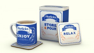Horlicks Vintage Set
