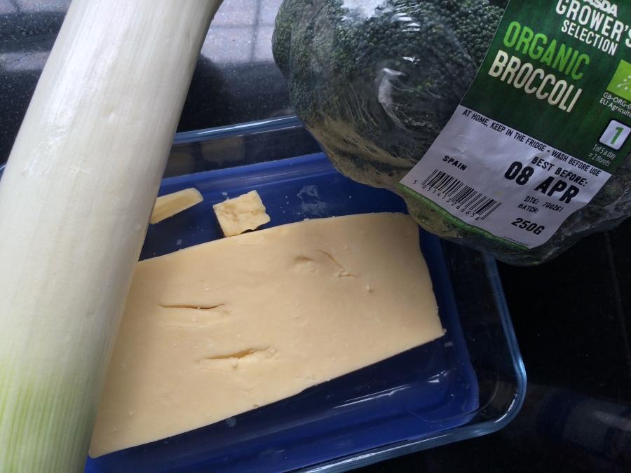 Cheese Broccoli Leek