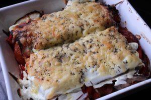 Healthy Mediterranean Vegetable Lasagne Recipe Thumbnail